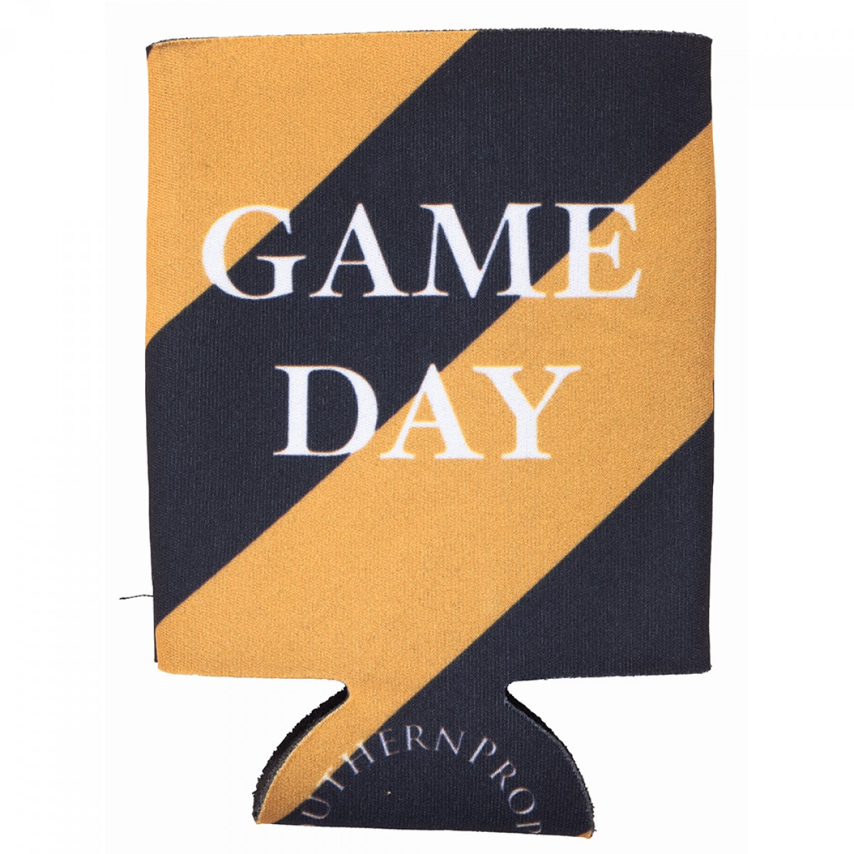 Gold & Black Gameday Coozie